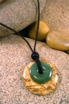 Picture Jasper and Green Aventurine