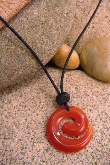Spiral Carnelian